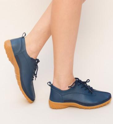 Pantofi Casual Escan Bleumarin