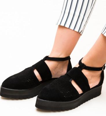 Pantofi Casual Lazer Negri 2