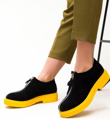 Pantofi Casual Lukoni Negri