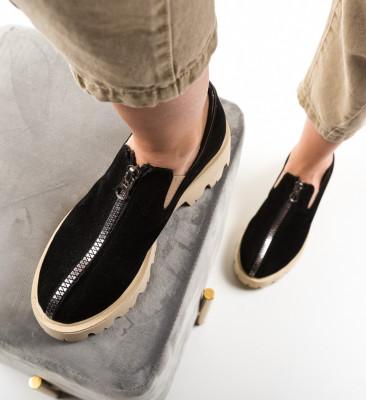 Pantofi Casual Lux Negri