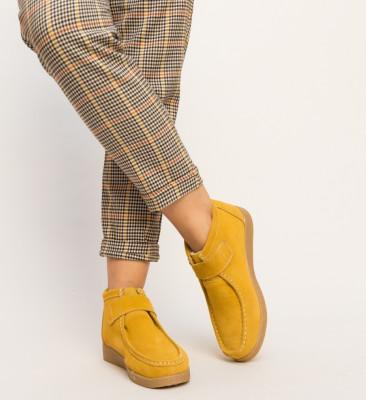 Pantofi Casual Miuto Galben