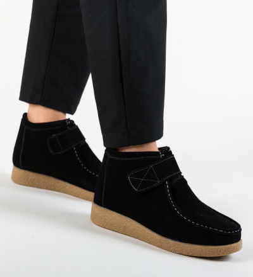 Pantofi Casual Miuto Negre
