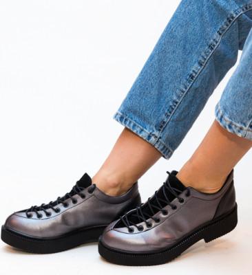 Pantofi Casual Neave Gri