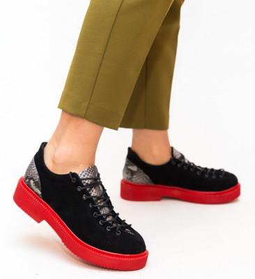 Pantofi Casual Neave Rosii