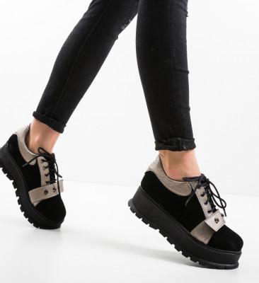 Pantofi Casual Niminigan Negri 2