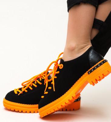 Pantofi Casual Palermo Portocalii