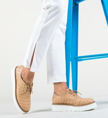 Pantofi Casual Pruto Bej