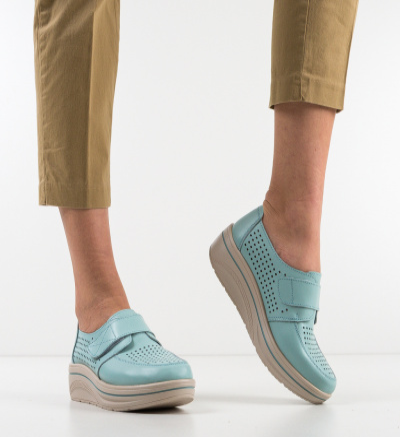 Pantofi Casual Rezolito Turcoaz