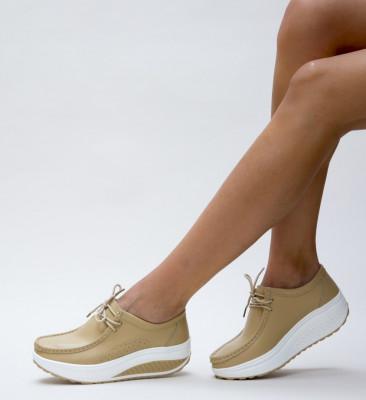 Pantofi Casual Roly Bej