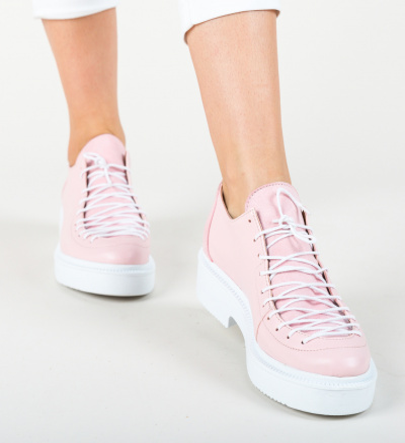 Pantofi Casual Selim Roz