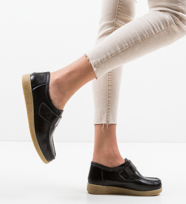 Pantofi Casual Seninena Negri