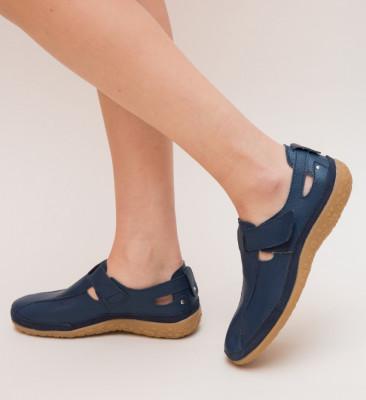Pantofi Casual Teos Albastri