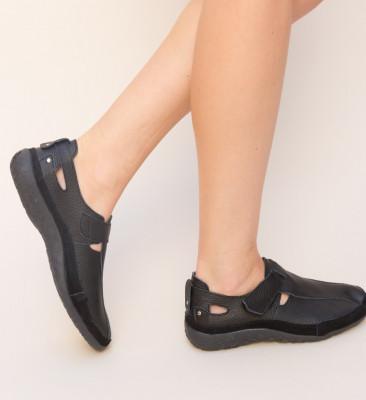 Pantofi Casual Teos Negri