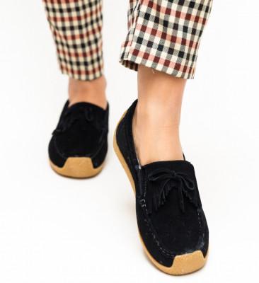 Pantofi Casual Termeio Negri