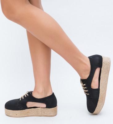 Pantofi Casual Vesan Negri