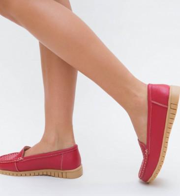 Pantofi Casual Zina Rosii