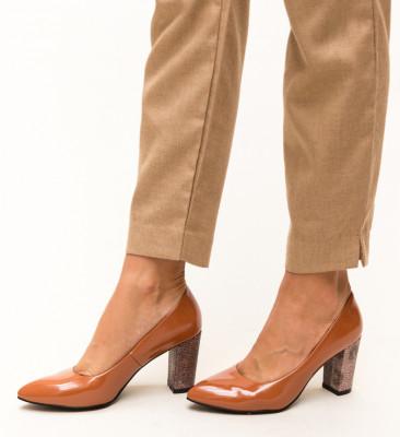 Pantofi Chen Camel