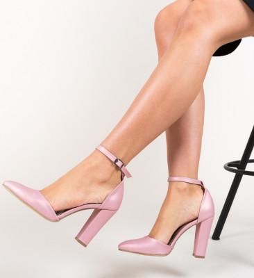 Pantofi Dika Roz