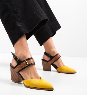 Pantofi Doro Galbeni