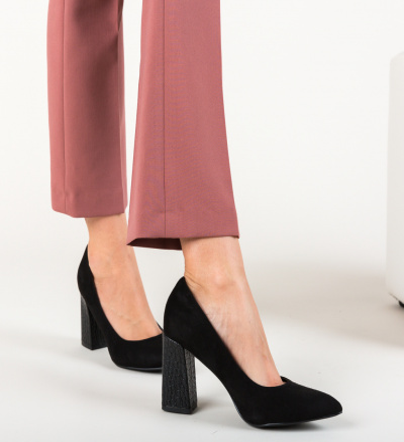 Pantofi Emiro Negri