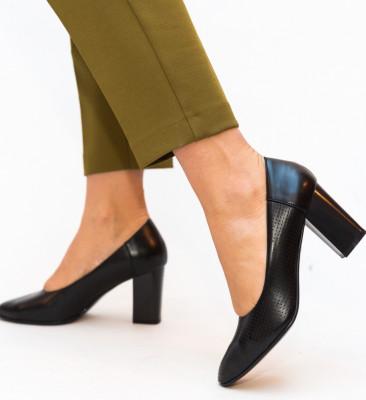 Pantofi Eren Negri