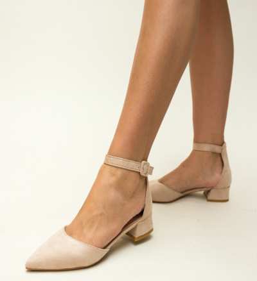 Pantofi Eryn Nude