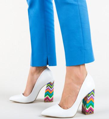 Pantofi Esisto Albi