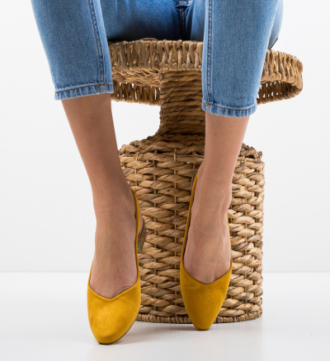 Pantofi Esmai Galbeni