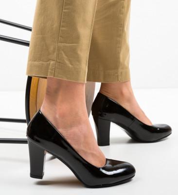 Pantofi Esouma Negri