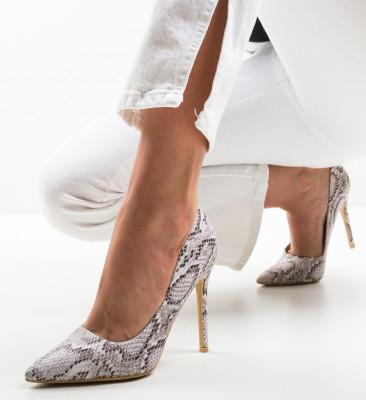 Pantofi Fear Bej