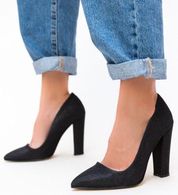 Pantofi Guevara Negre