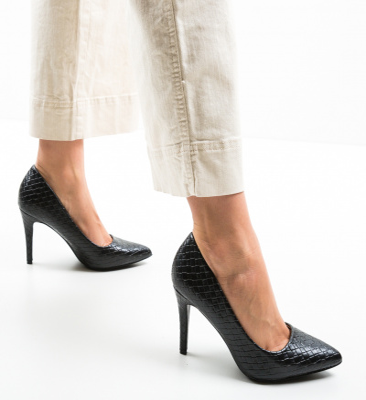 Pantofi Inez Negri