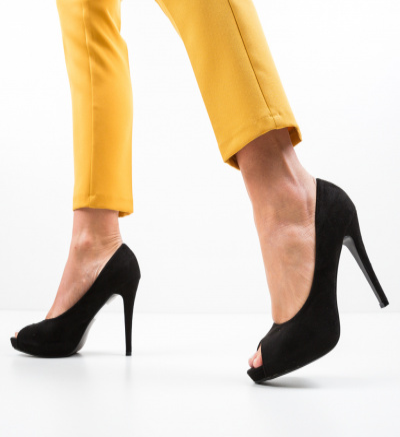 Pantofi Jayce Negri