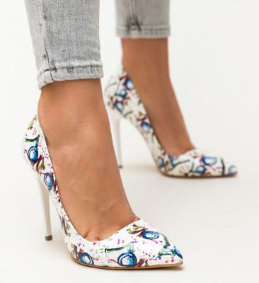 Pantofi Kiton Albi