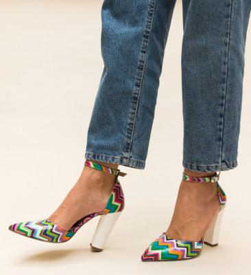 Pantofi Kyron Albi