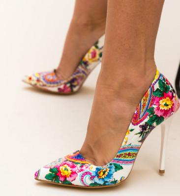 Pantofi Lilola Albi