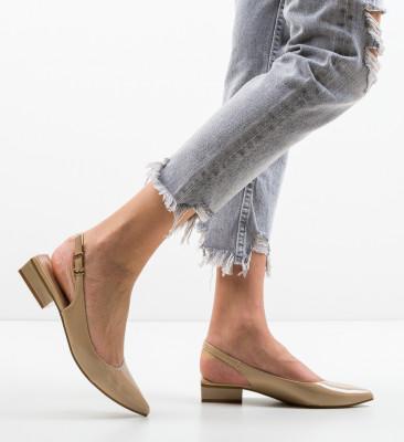 Pantofi Lim Bej
