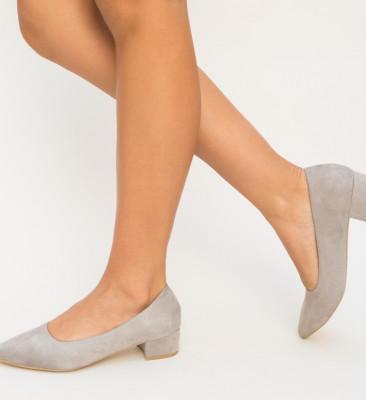 Pantofi Mandor Gri