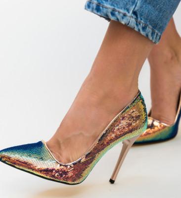Pantofi Meidaro Roz