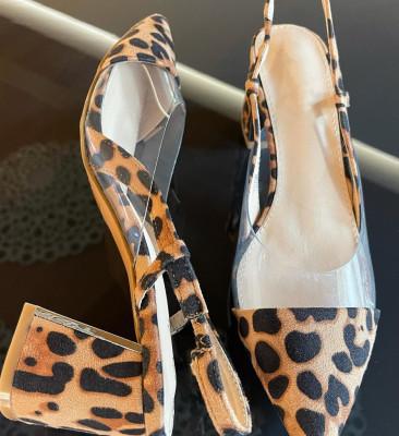 Pantofi Milla Leopard