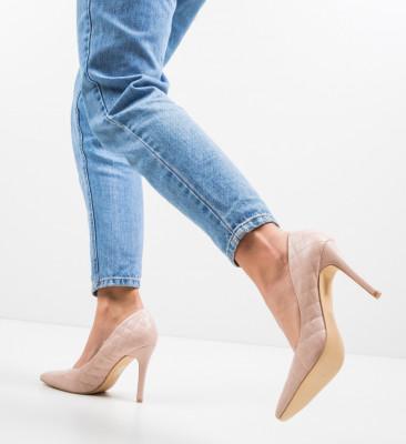 Pantofi Moba Nude