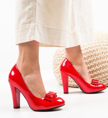 Pantofi Nassie Rosii