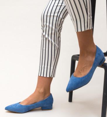 Pantofi Niam Albastri