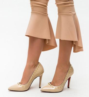 Pantofi Nicor Bej