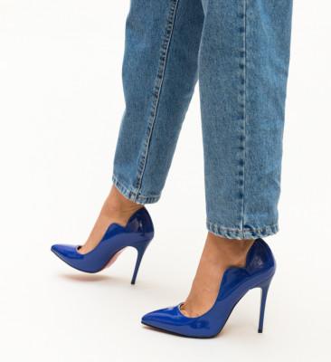Pantofi Nitel Albastri