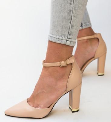 Pantofi Owain Nude