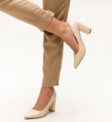 Pantofi Pauline Bej