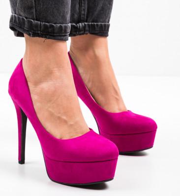 Pantofi Pitt Fuchsia