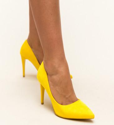 Pantofi Polon Galbeni 2