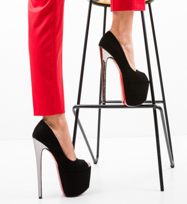 Pantofi Quker Negri 6